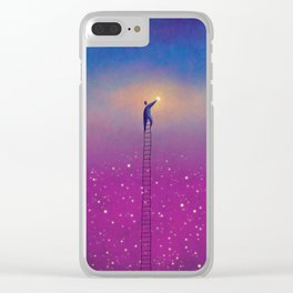 One Star Clear iPhone Case