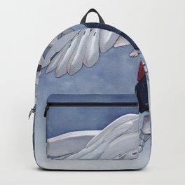 Gundam Wing Zero watercolor Backpack