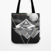 triforce Tote Bags featuring Triforce by Bambi
