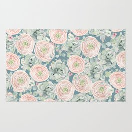 Flowers And Succulents #buyart #decor #society6 Rug