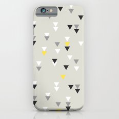 little triangles yellow Slim Case iPhone 6s