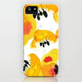 Water Flowers iPhone Case