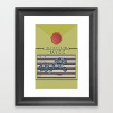 Hayes Framed Art Print