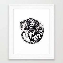 Tiger Day 2014 Framed Art Print