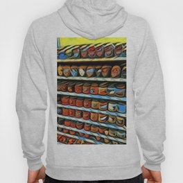 Candle Shelf abstract painting Hoody