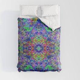 Blacklight Tye Dye Kaleidoscope Comforters