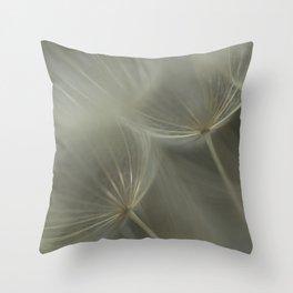 Dandelion Closeup Throw Pillow