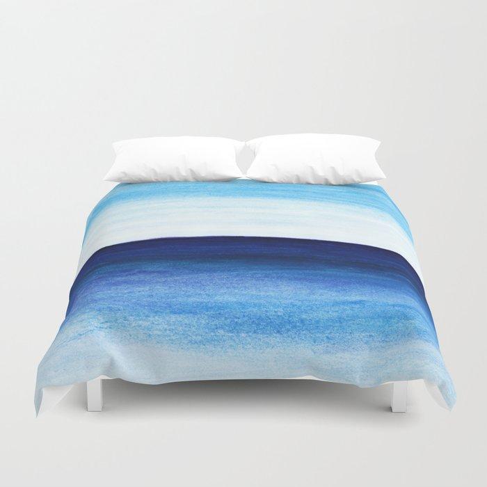Blue & blue Duvet Cover
