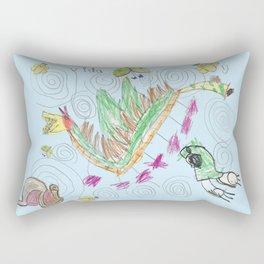 Vida's Characters Rectangular Pillow