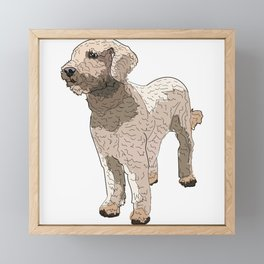 Labradoodle Framed Mini Art Print