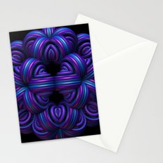 Purple Orb Stationery Cards