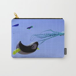 A Bump and a Wave Carry-All Pouch