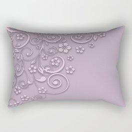 With a flourish B2 Rectangular Pillow