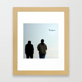 Dreaming Of Other Places Framed Art Print