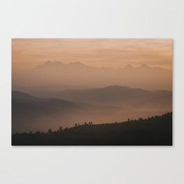 Mountain Love - Landscape and Nature Photography Canvas Print