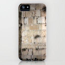 Jerusalem - The Western Wall - Kotel #3 iPhone Case