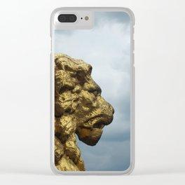 Cloud Lion Clear iPhone Case