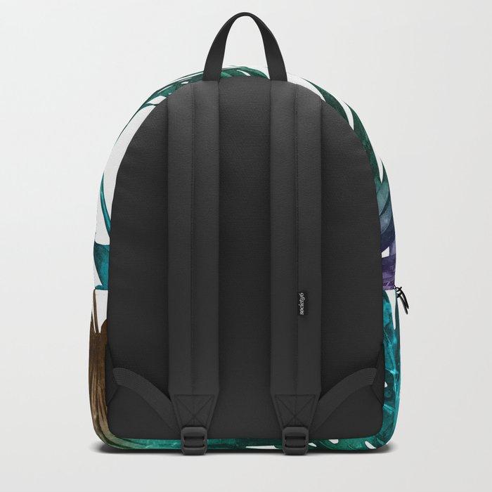 Tropics Tropical Jungle Island Pattern Backpack