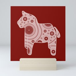 Red Horse Mini Art Print