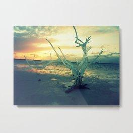 Sunset in the Bahamas Metal Print