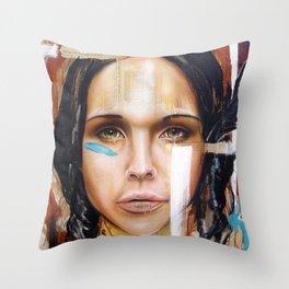 Warpaint #2: War Cry Throw Pillow