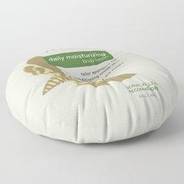 Buffalo Bil's Body Lotion Floor Pillow