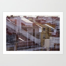 Deconstruction #21 Art Print