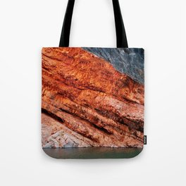 Orange rock - Greg Katz Tote Bag