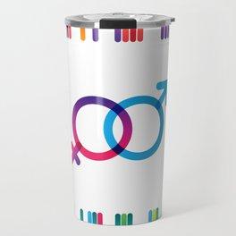 Symbols of Love #1 Travel Mug