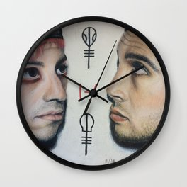 Josh + Tyler Wall Clock