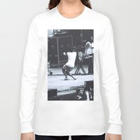 childish gambino Long Sleeve T-shirts featuring gambino gets down (Childish Gambino) by bryantwashere