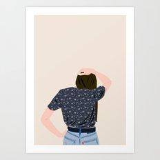 OUPS Art Print