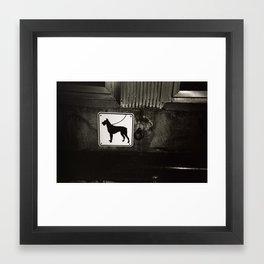 Tied Up Framed Art Print