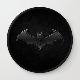 Superman - Bat man Wall Clock