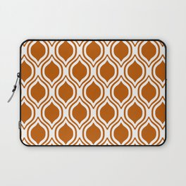 Texas longhorns orange and white university college texan football ogee Laptop Sleeve