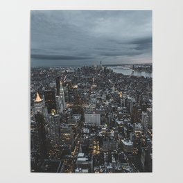 New York city views Poster
