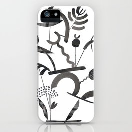 Abstract Botanica - 1 iPhone Case