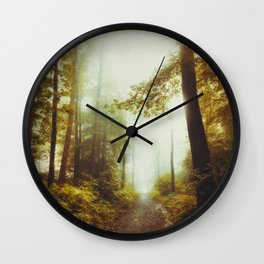 Path to Inner Peace Wall Clock