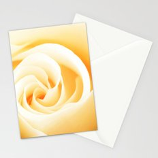 Rose´s heart II - Yellow beautiful rose flower Stationery Cards