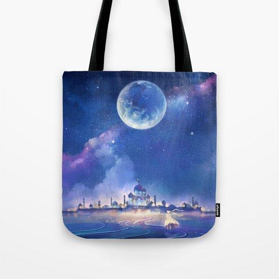 silver millennium Tote Bag