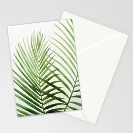 Fresh Palm Fronds Stationery Cards