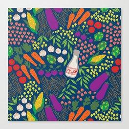 Market Fresh Canvas Print