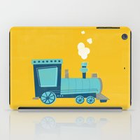 train iPad Cases featuring Train by KatieDaugherty