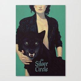 the Silver Circle Canvas Print