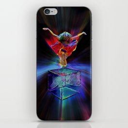 RESIST WITH LOVE iPhone Skin
