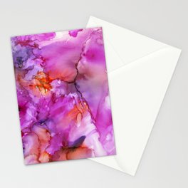Pink Fusion Stationery Cards