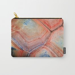 Shell Topography Carry-All Pouch