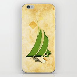 Arabic Calligraphy - Rumi - Strange Pull iPhone Skin