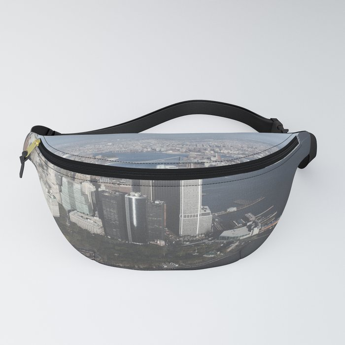 NYC Downtown Aerial Fanny Pack