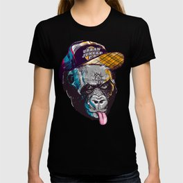 Gorillas Thinkers of the Urban Jungle T-shirt